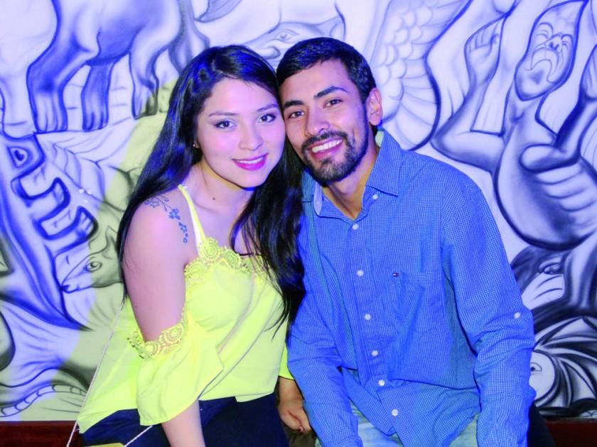 Laura Enríquez y Andrés Pardo.