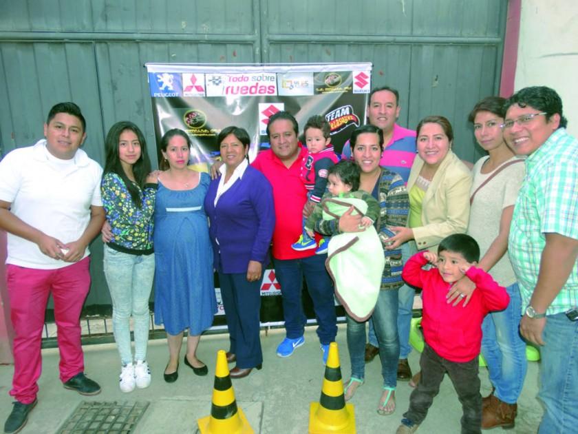 Familia Velásquez y Rojas.