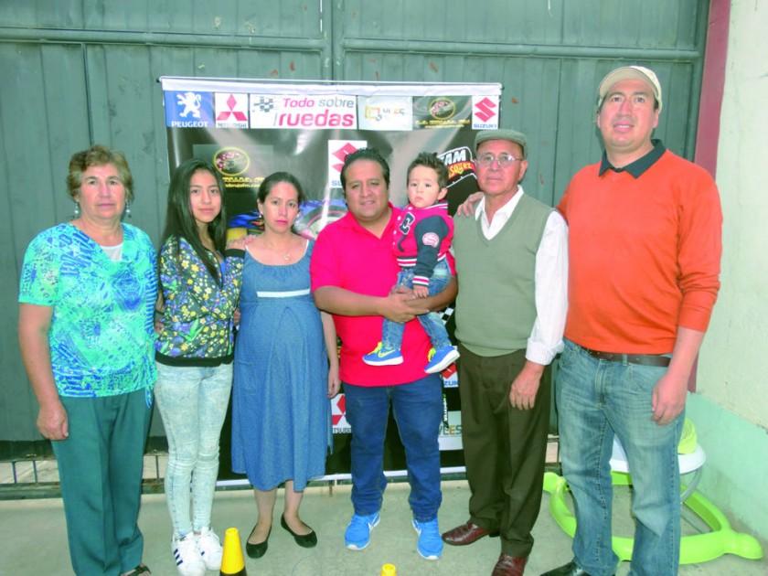 Familia Cáceres y Carrasco.
