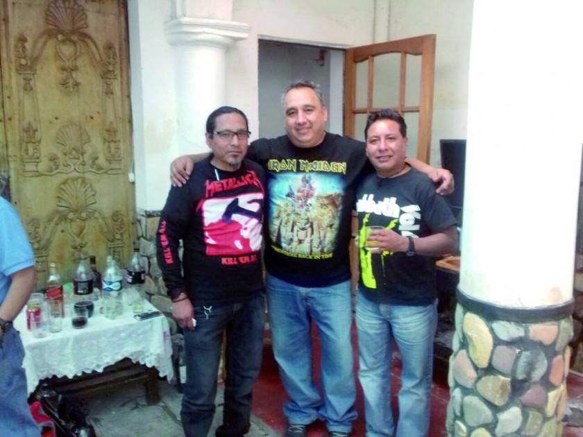 Oscar Quispe, José Luis Assaf y Hernán Mendoza