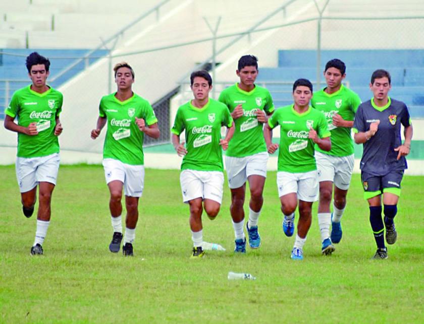 La Selección Boliviana se concentra en Santa Cruz, antes de viajar a Chile para el Campeonato Sudamericano.