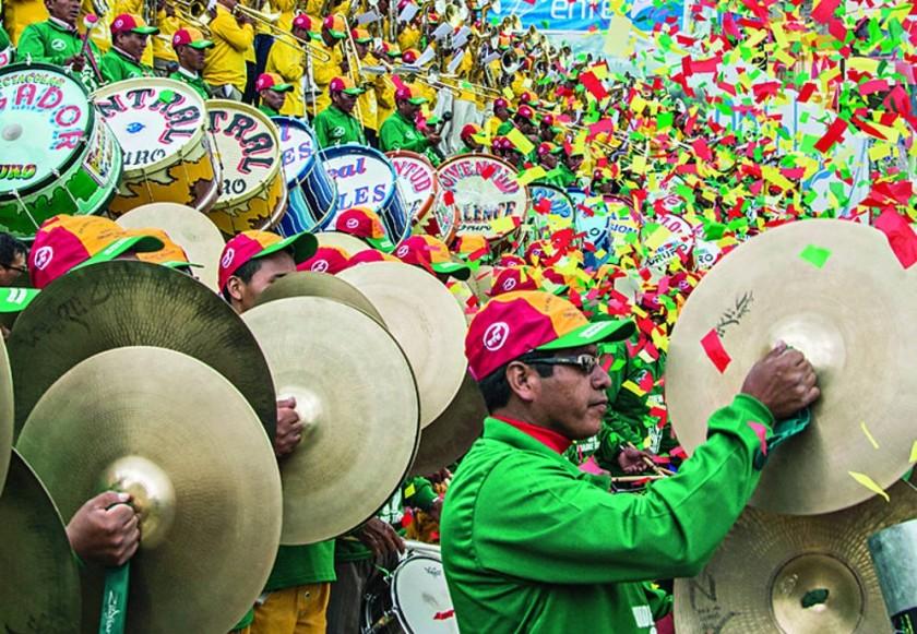 Festival de Bandas de Oruro reúne a 5.000 músicos y anticipa Carnaval