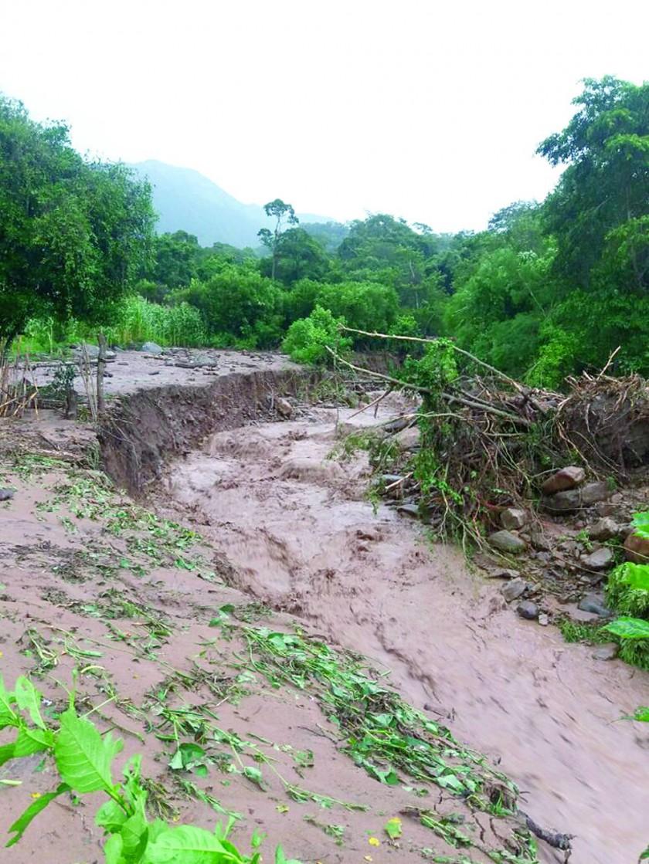 LLUVIAS. Provocaron derrumbes, riadas y lodazales; el agua se llevó todo a su paso: sembradíos, animales, entre otros.