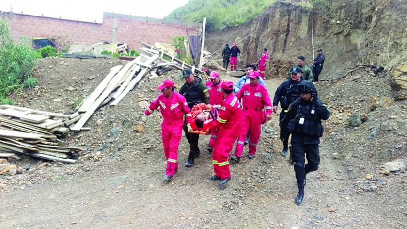 Monteagudo sufre pérdidas y Sucre reporta un herido