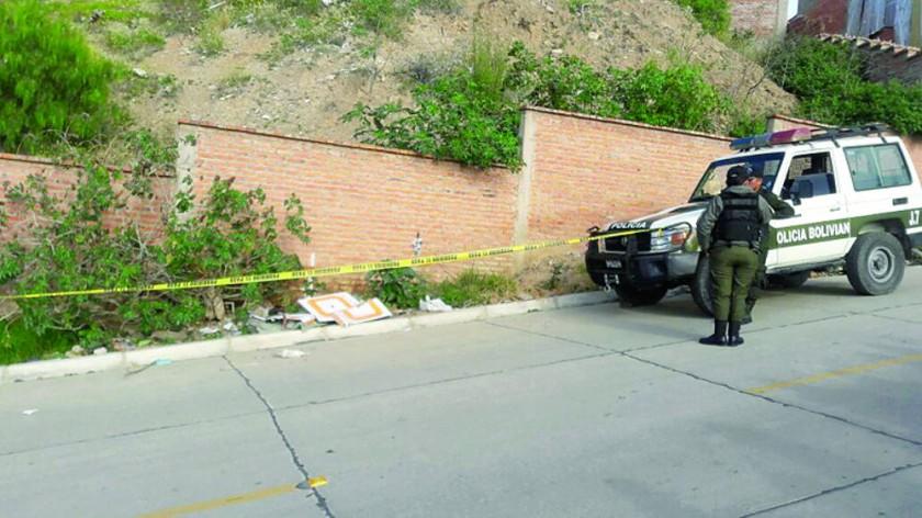 ASESINADA. En un basural de la calle Camacho fue hallado el cadáver de Demetria.