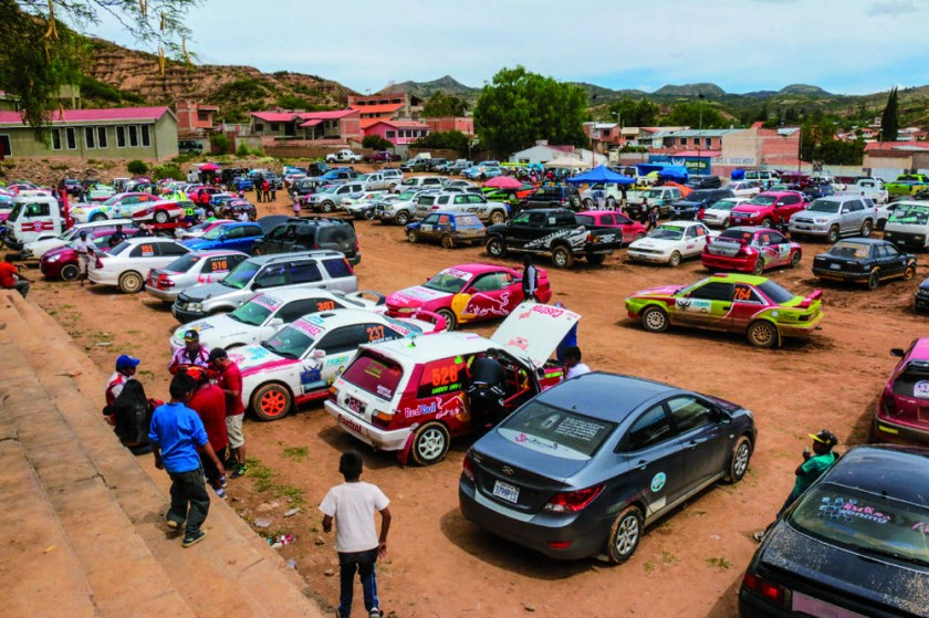 El público disfrutó de la primera competencia del año.