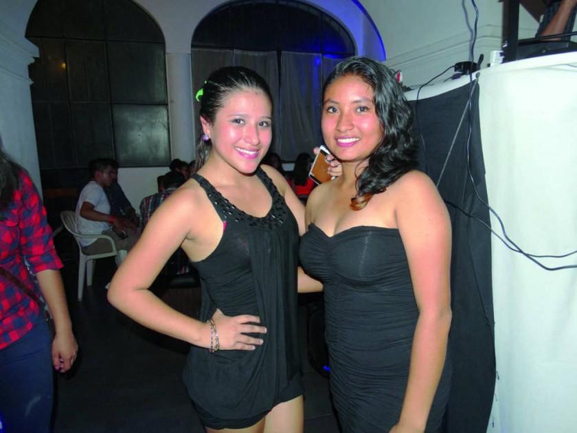 Nataly Palacios y Amérika Jurado.