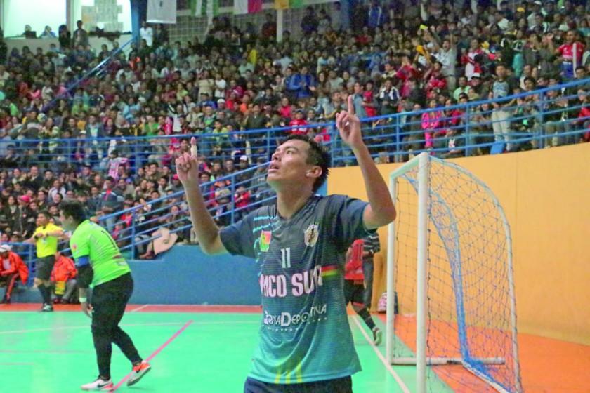 ¡Chuquisaca, campeón de futsal!