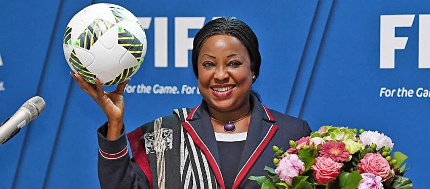Fatma Samoura como secretaria general