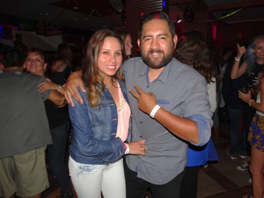 Tati Castro y Juan Pablo Rocabado.