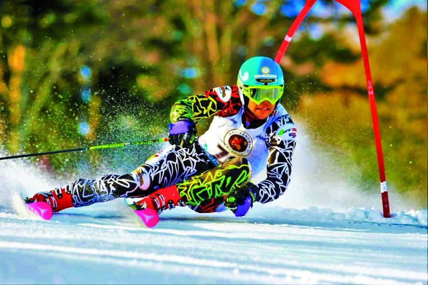 Esquís bolivianos en JJOO
