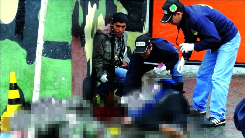 El feminicidio suicidio ocurrió hoy en un batallón en Cochabamba. FOTO: Ministerio de Defensa