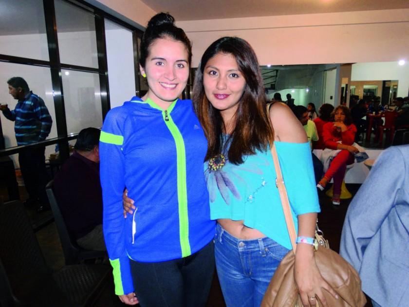 Susana López y Paola Durán.