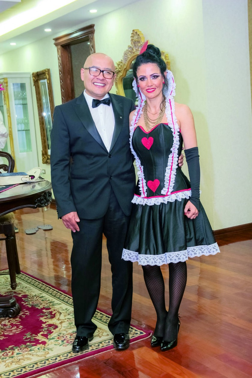 Ignacio Tapia y Daniela Drew