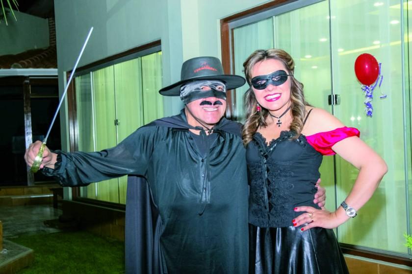 Walter Arízaga y Lili Carreño