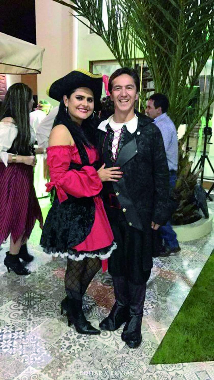 Mariana Da Costa y Milton Careaga