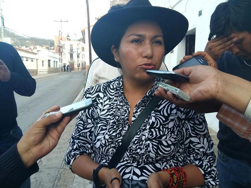 La ex ministra Marianela Paco. Foto: Archivo