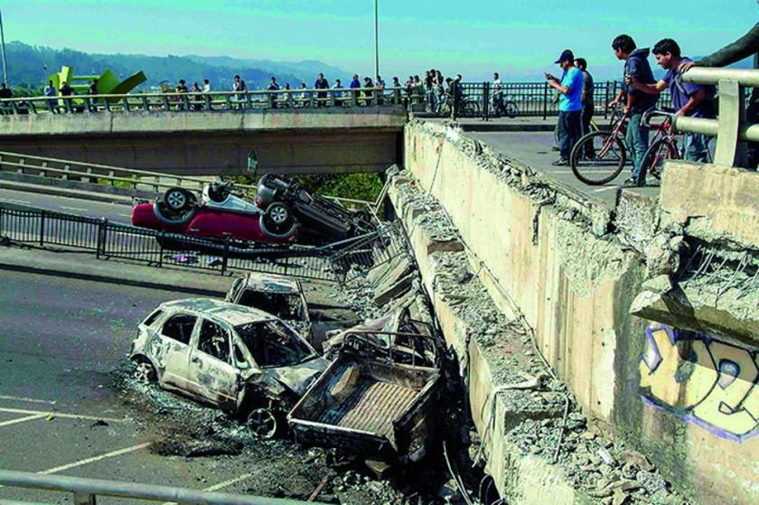 Terremoto ocurrido el 16 de septiembre de 2015 en Chile.