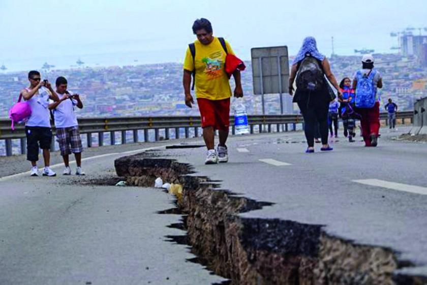 Plan de contingencias para encarar un sismo