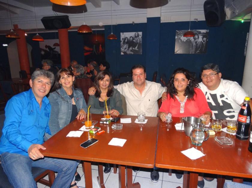 Alex, Elsa, Martha, Gunar, Paola y Gonzalo.