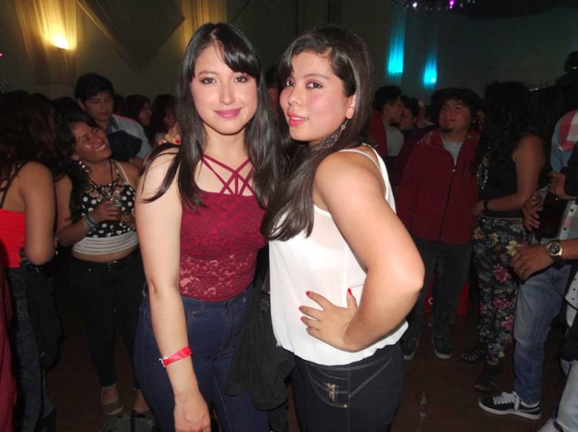 Grisel Díaz y Cristina Delgado.