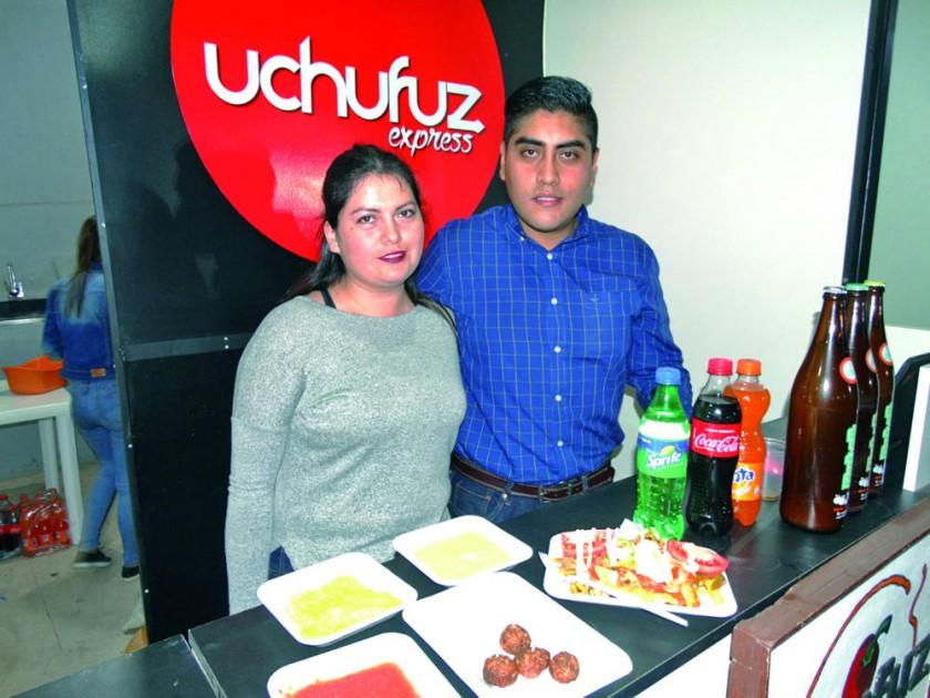 Uchufuz: Luciana Téllez y Julio Pereira.