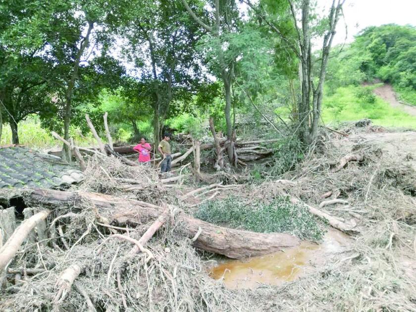 Riada arrasa en Monteagudo