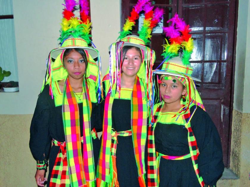 Marioly Núñez, Katherine Marañón y Jhoselin Castillo.