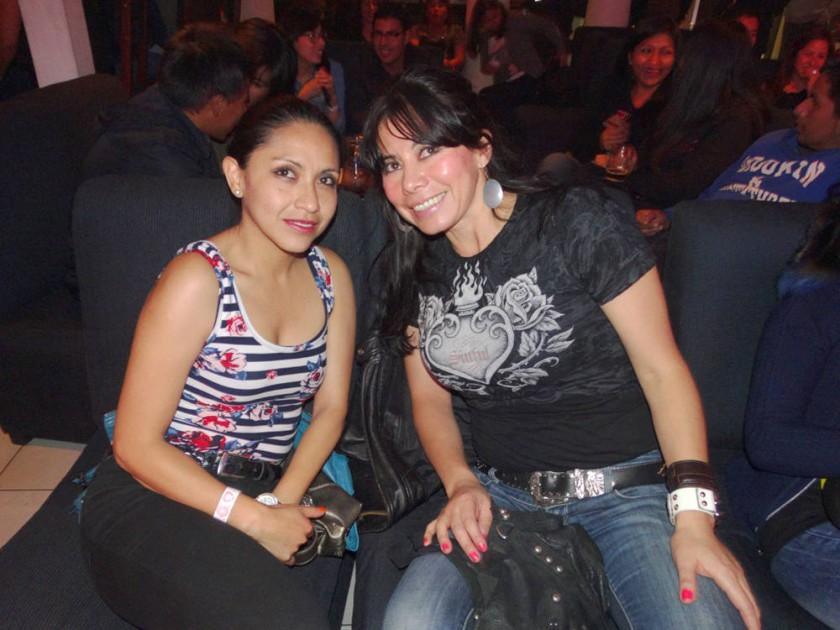 Janeth Gorena y Sonia Dávalos.