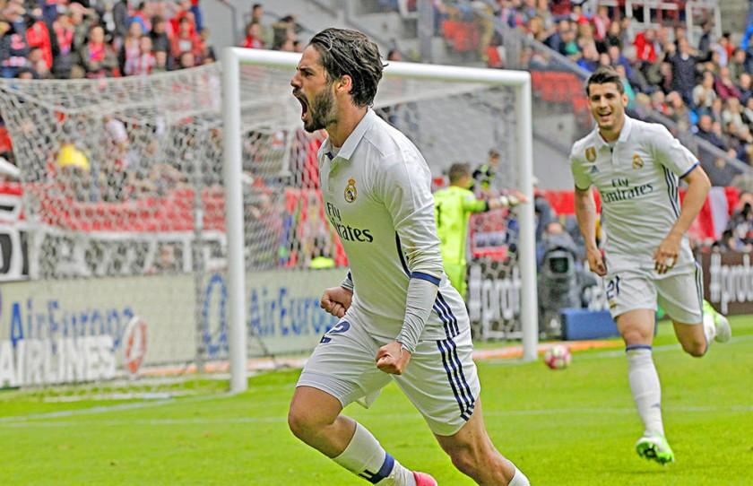 El español Isco y el argentino Messi fueron las figuras en el triunfo de sus respectivos equipos.