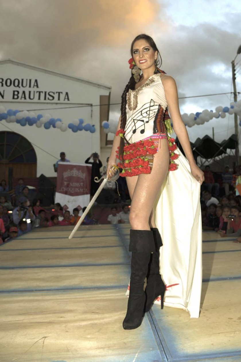 Nimeyra Flores, representante de Sucre.