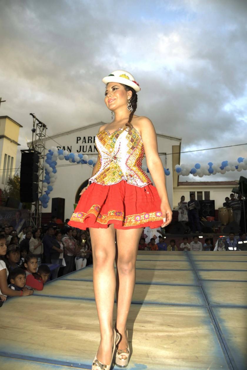 Adriana Cueto, representante de Zudáñez.