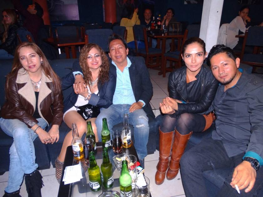 Eneida Barrios, Enith Barrios, William Lázaro, Rebeca Ayala, Christian Barrios.