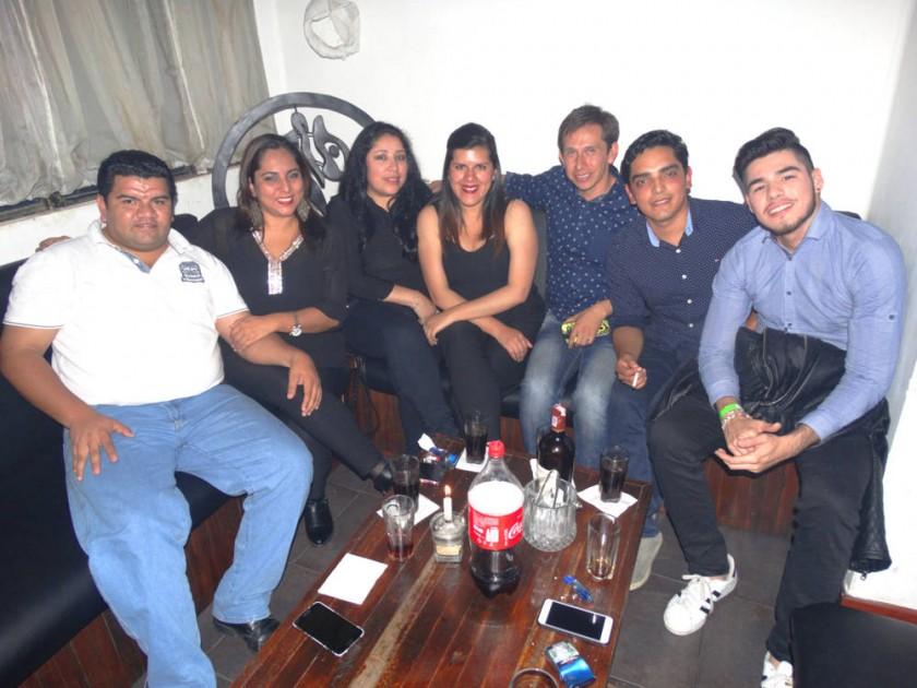 Bruno, Mauren, María, Valeria, Augusto, Edwin y Fernando.