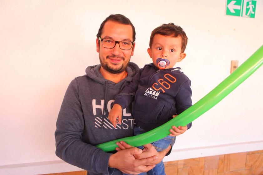 Felipe Soruco y Luís Felipe Soruco.