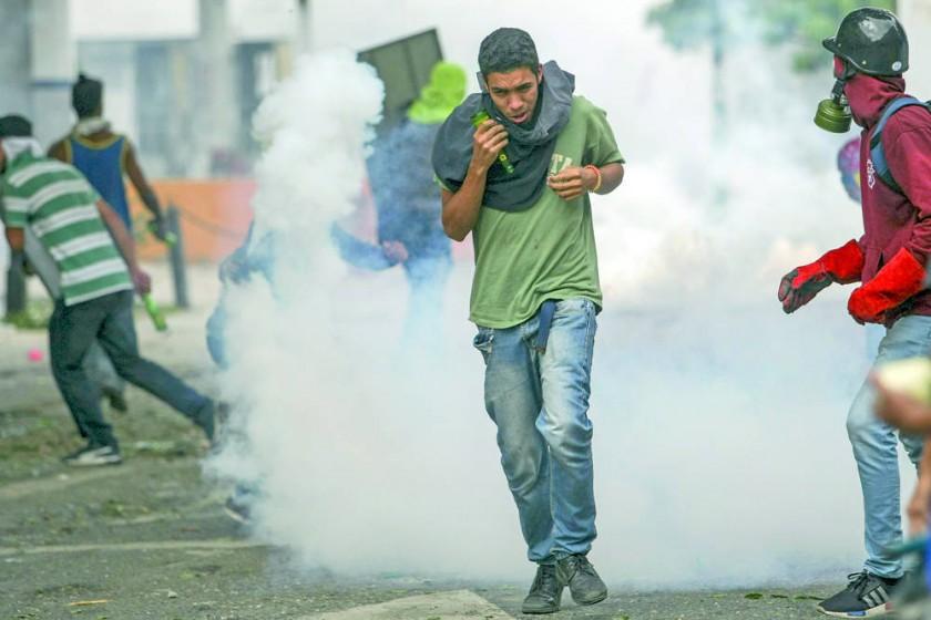 Venezuela, protesta y represión