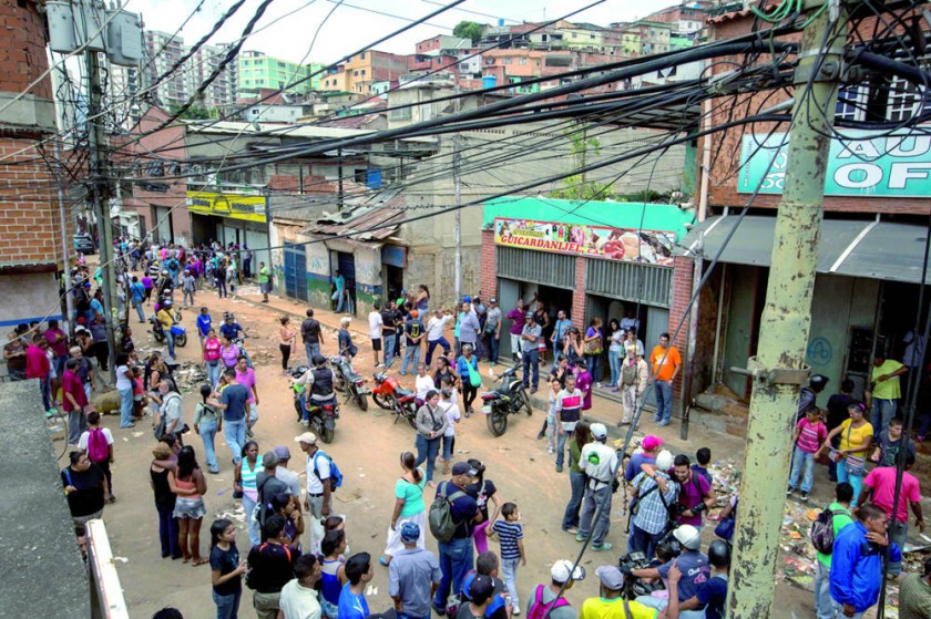 Feroz represión en Venezuela