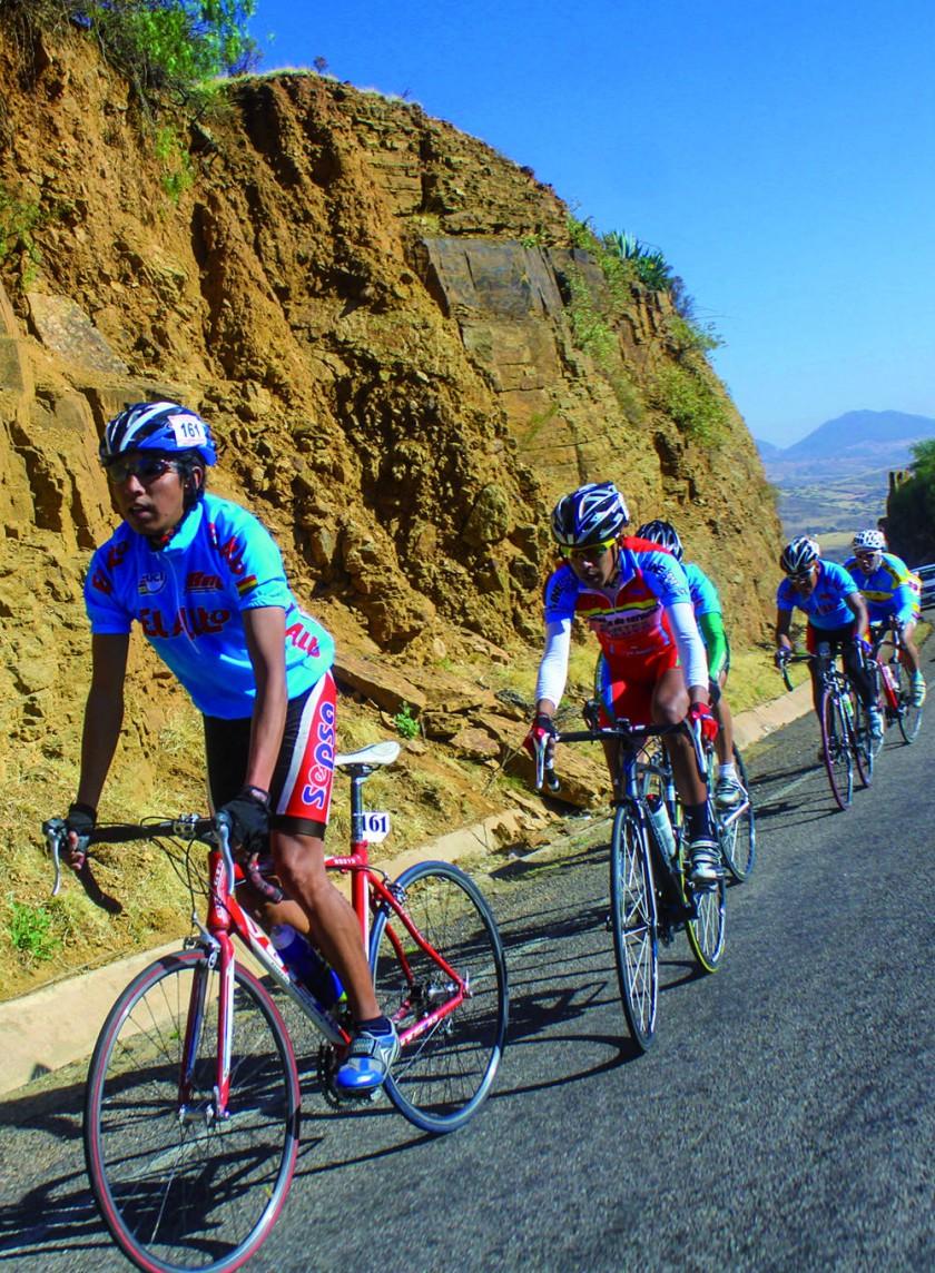 La prueba ciclística recorrió las carreteras de Chuquisaca y Potosí.