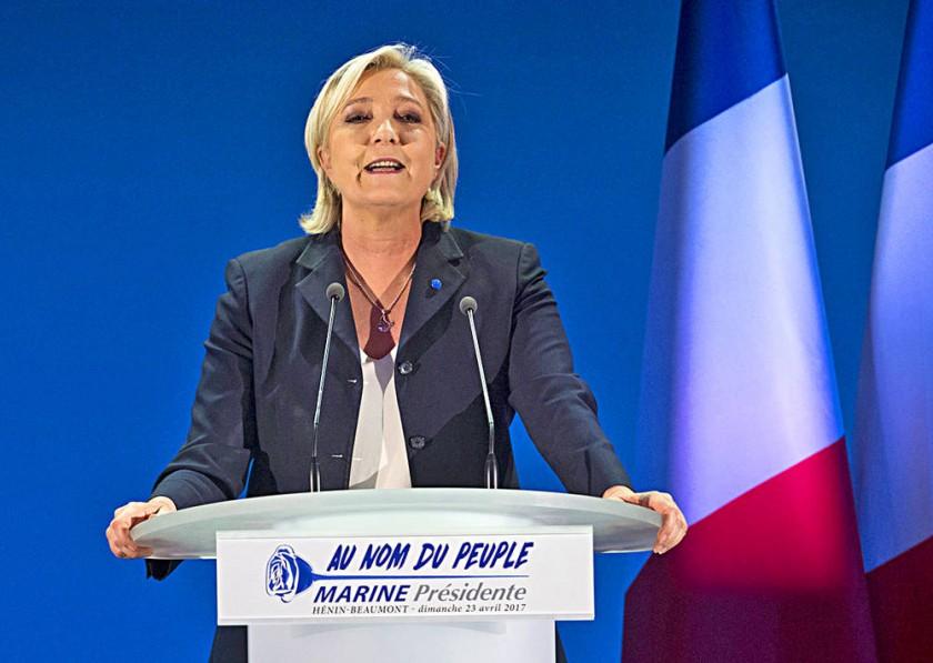 BALOTAJE. Macron sería el favorito para la segunda vuelta con relación a Le Pen.