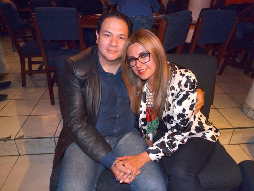 Marcelo Galarza y Verónica Vargas.