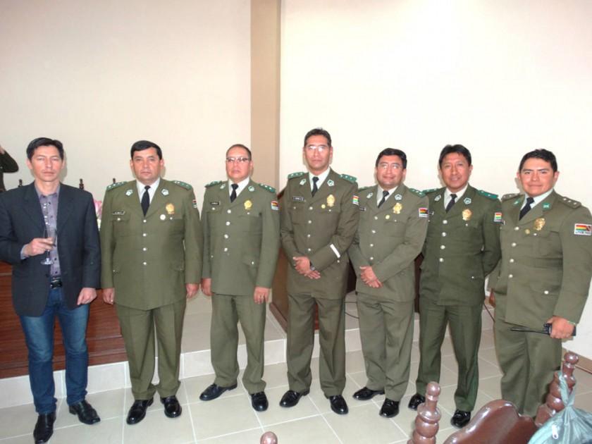 José Luis Soto, Alex Ríos, Benjamín Burgoa, Omar Agrada, Bismark Pereira, Luis Montoya  y Mauricio Quiñones.