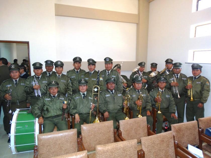 Banda de Música de la Policía de Chuquisaca.