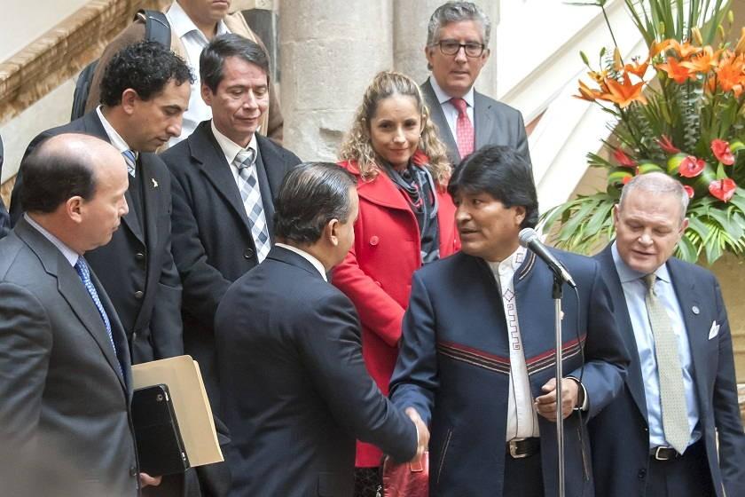 Los empresarios rechazan el acuerdo entre el Gobierno y la COB. Foto: Archivo