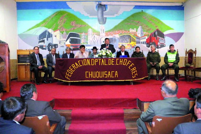 Nueva directiva de Federación de Choferes aboga por la Diagonal