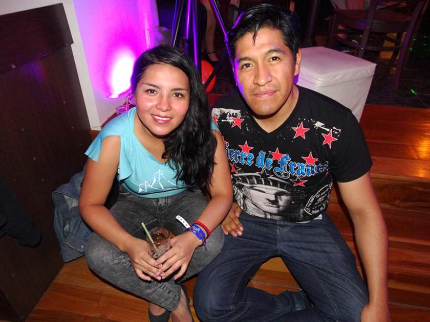 Claudia Ancasi y Marcelo Hilarión.