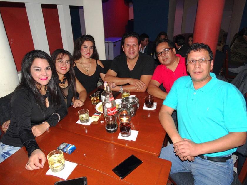 Susy Quiroga celebró su cumpleaños junto con sus amigos.