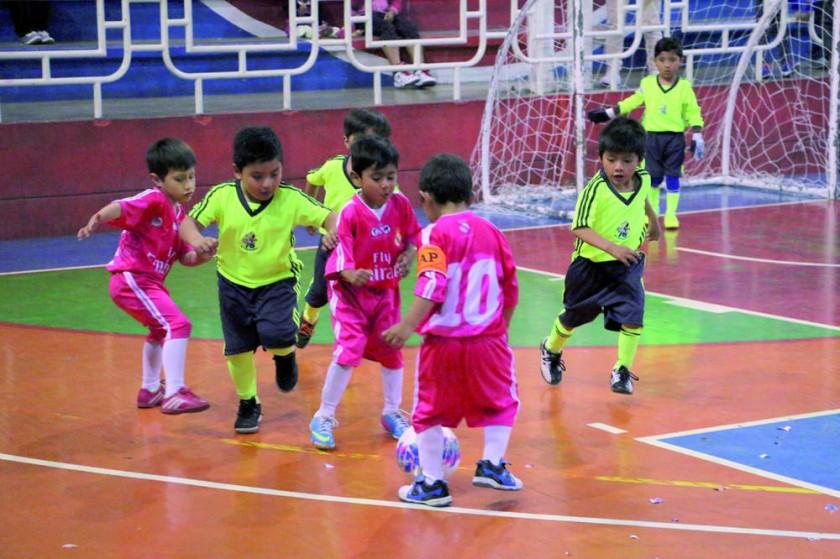 Campeonato de futsal interno.