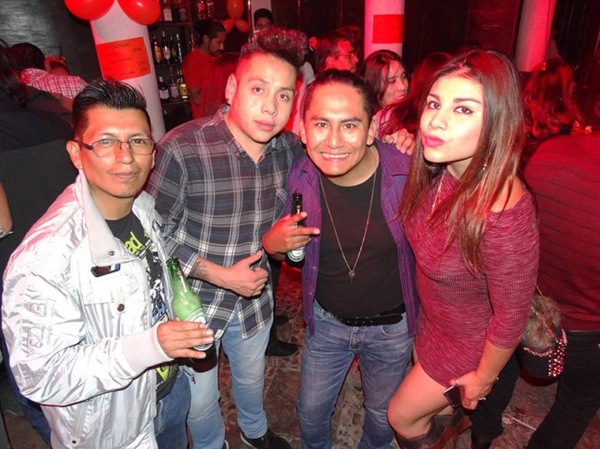 Aldo Callapa, Peter Navarro, Nicolás Porcel y Carolina Cortez.