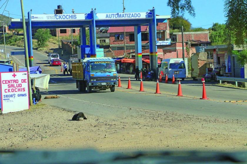 El retén de Qhochis será el punto de corte de la ruta entre Sucre y Alcantarí