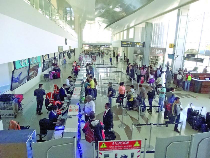 La terminal aérea suspenderá momentáneamente sus operaciones durante el Circuito Oscar Crespo.